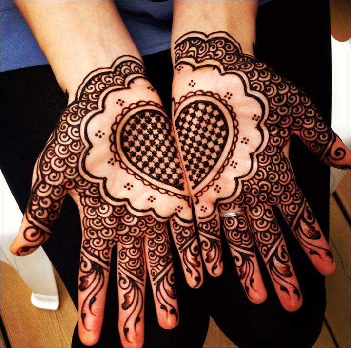 Motif Henna Mehndi