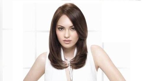 Model Rambut Sebahu segi