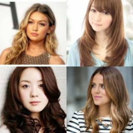 potongan rambut panjang wanita