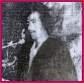 Shaheed Nazir Abbasi at BSO convention 1978 Quetta