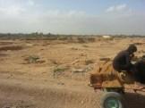 Lifting sand_Malir River 4