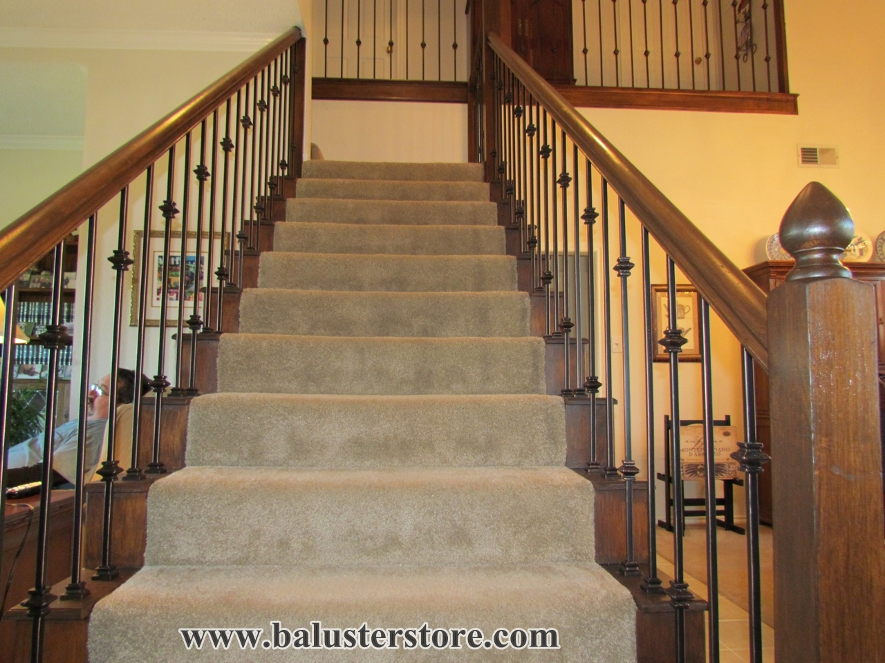 Iron Balusters For Stairs And Balconies – Balusterstore1   Metal Staircases And Balconies