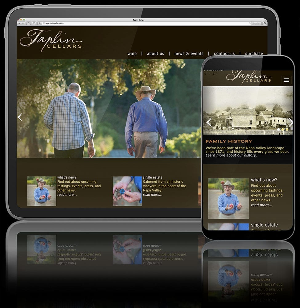 Winery websites need good design