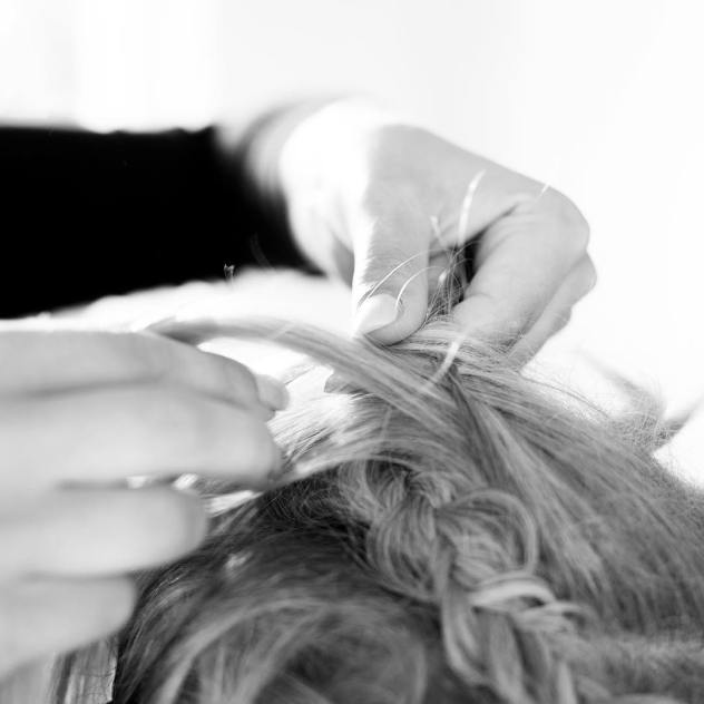 doing hair braid styling bamhairstyle laurapeeters working work blonde hairstylehellip