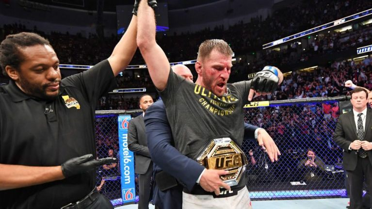 "Watch ""UFC 241: Stipe Miocic Reacts to Win Over Daniel Cormier"" on Bamabjj.com"