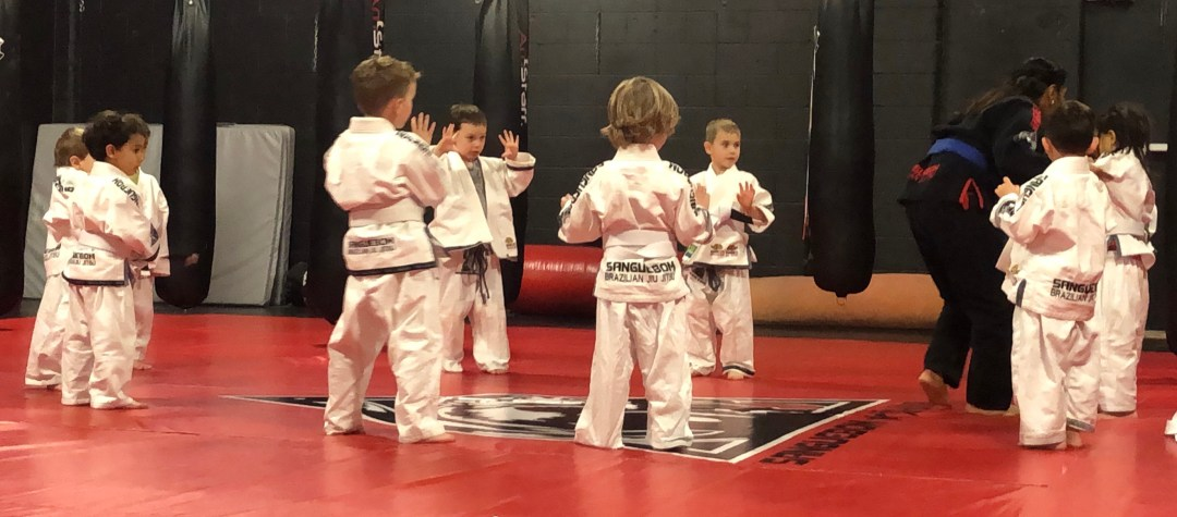 BJJ Tots at home training #1.