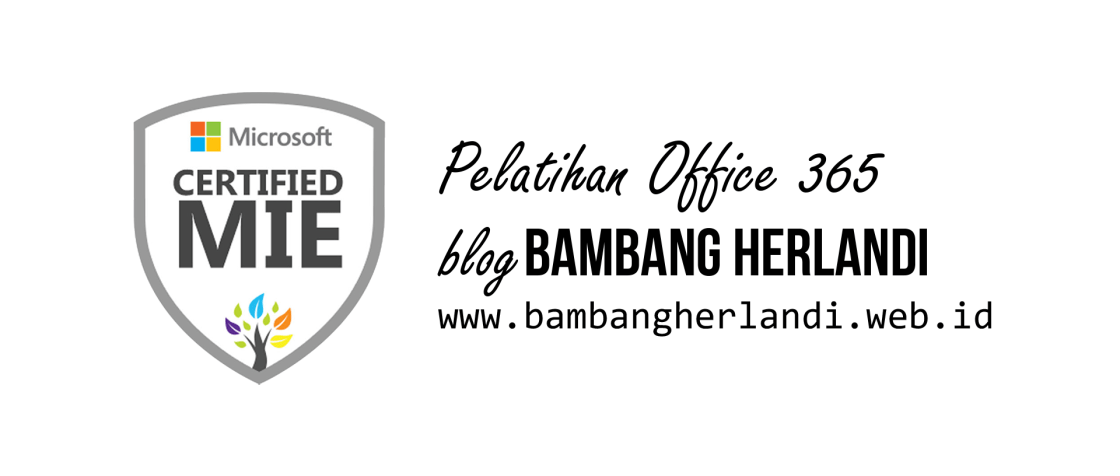 Banner pelatihan office 365