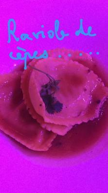 raviole de cèpes