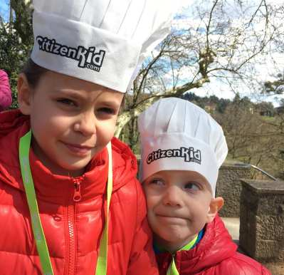 Chasse aux oeufs CitizenKid