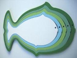 Fish Wall Decor by Wallter