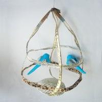 Tamar Mogendorff Birdcage with Two Birds