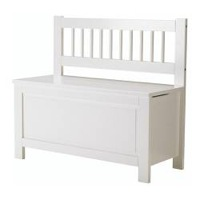 Nursery Decoration Idea: Customise an Ikea Hemnes Storage Bench