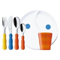 6 piece dinner and cutlery set