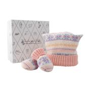 Baby's Argyle Hat & Mittens