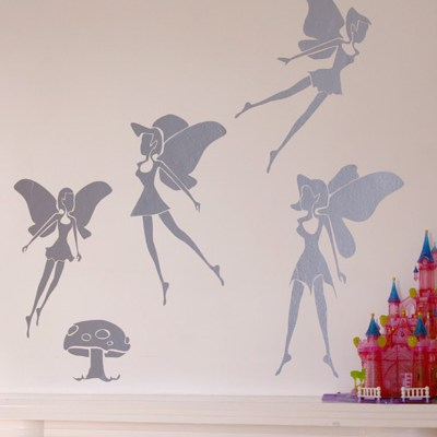 SCIN Fairy Wall Tattoos