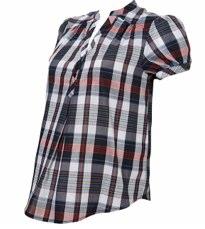 Pregnancy Style: Check Shirts