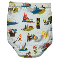 Retro Nappy Pants from Twisted Twee