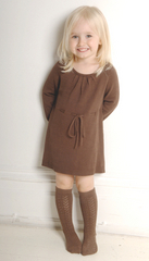 Chocolate Bamboo Knitted Dress