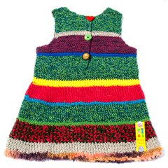 Hand Crocheted Pinafore Dresses by Teeny Tini