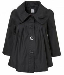 Hot Maternity Coat Alert! TopShop Maternity Swing Jacket