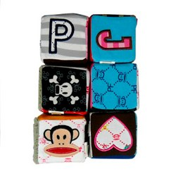 Plush Small Paul Building Blocks