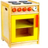 Eco Friendly Wooden Pretend Play Kitchens
