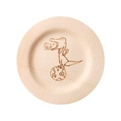 Ethical Children's Party Gear: Bamdino Veneerware Plates