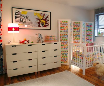 Nursery Tour: Jakob's Retro Nursery