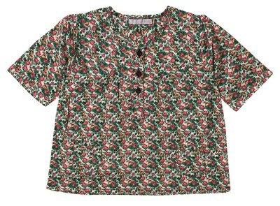 Topshop Mini Floral Blouse
