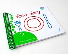 Wipe-able Food and Medicine Diaries by Maxie and Teddy