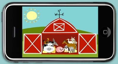 Cool iPhone Apps for Toddlers: Peeekaboo Farm & Peekaboo Wild