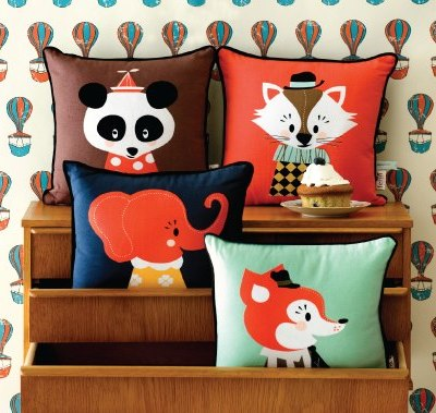 Darling Clementine and Ferm Living Marionette Cushions