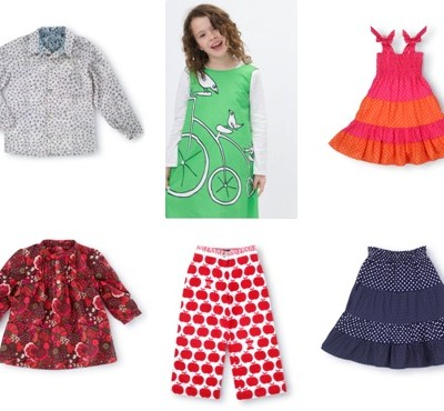 Exclusive Sneak Peek: Clothkits Summer 2010