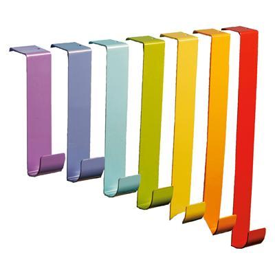 Rainbow Lacquered Door Hooks