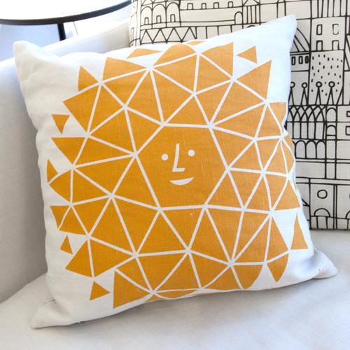 alexander girard vitra sun cushion