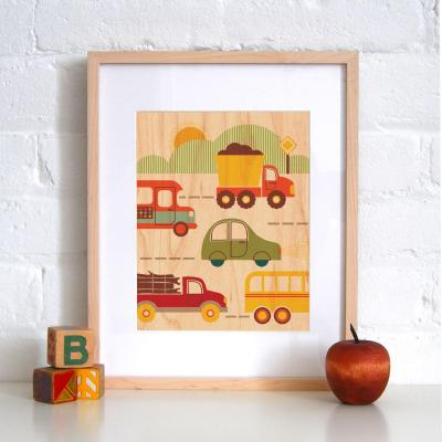 10 Best: ideas for a transport-themed room