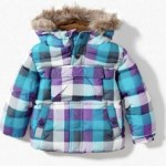 Check winter coat by Zara