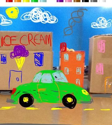 Scribble Kid iPad app