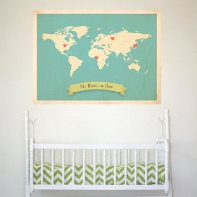 My Roots Map Prints
