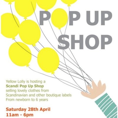 Hot Spot: Scandi Pop Up Shop by Yellow Lolly at Upper Street, London April 28th