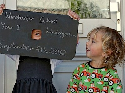 Inspiration: How To Take Back To School Photos