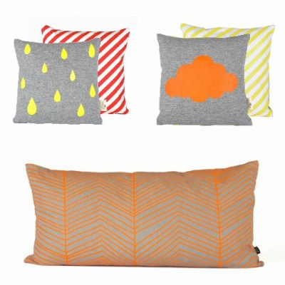 Ferm Living Neon cushions