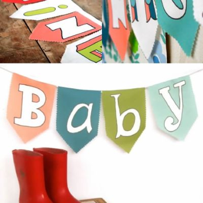 Little Baby Company – Personalised Bunting