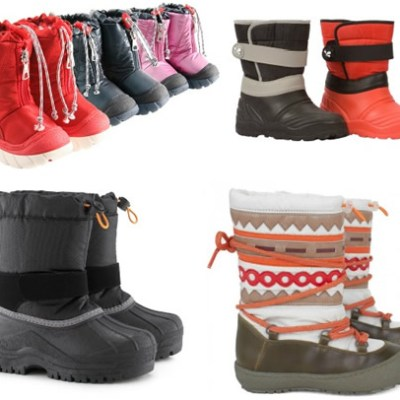 The Great Winter Coat Hunt: Snow Boots