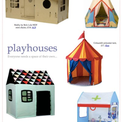 BG Christmas Gift Guide 2012: playhouses