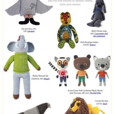 BG Christmas Gift Guide 2012: soft toys