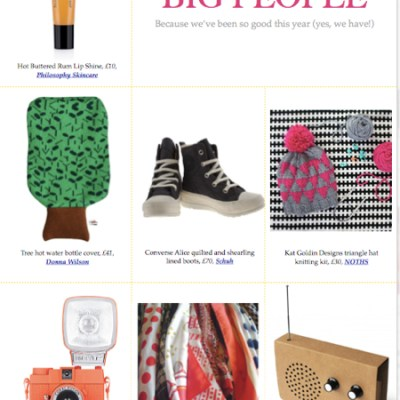 Bambino Goodies Gift Guide 2012: big people