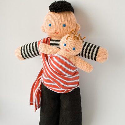 Freja Toys babywearing daddy doll