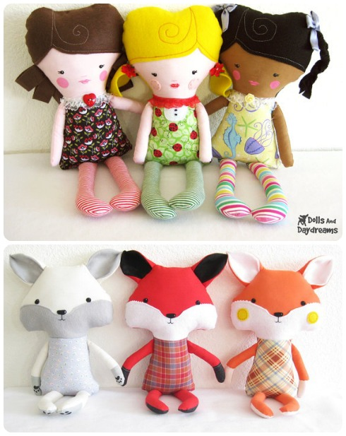 Dolls & Daydreams Sewing Patterns
