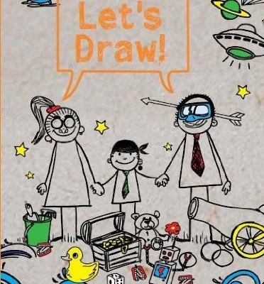 Let's Draw by Carol Seatory activity book